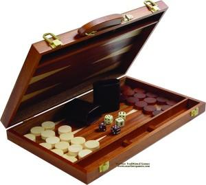 backgammon-mahogany